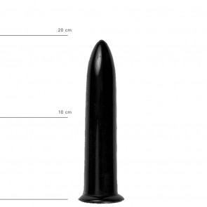 ALL BLACK Dildo Holger, AB06