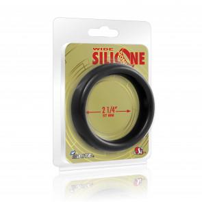 SI IGNITE Weiter Silikon Donut 5,7 cm (2,25 in), Schwarz