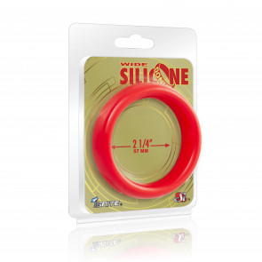 SI IGNITE Weiter Silikon Donut 5,7 cm (2,25 in), Rot
