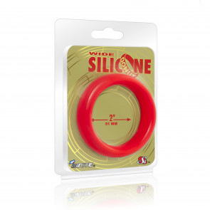 SI IGNITE Weiter Silikon Donut 5,1 cm (2 in), Rot