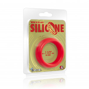 SI IGNITE Weiter Silikon Donut 3,8 cm (1,5 in), Rot