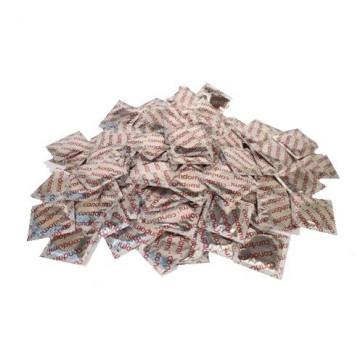 Condomi Nature, Intense, Clear, 100 Condoms, 18 cm (7,1 in)