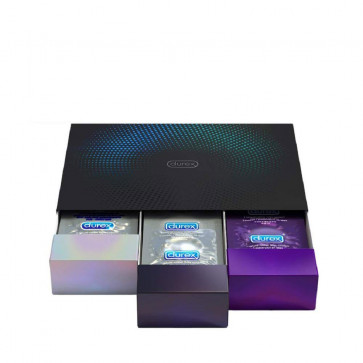 """Durex """"Suprise Me"""" Deluxe Condoms, 30-Pack Black Box"""