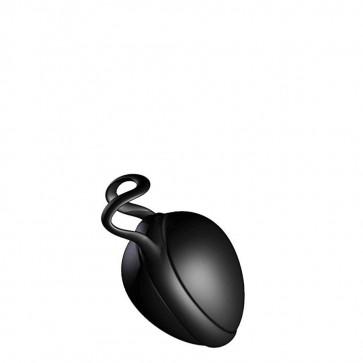 JoyDivision Joyballs Secret Single, Silikomed (TPE), Deep Black, 6 cm (2,4 in), Ø 3,7 cm (1,4 in)