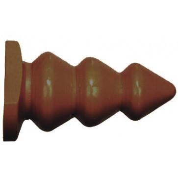 SI IGNITE Triple Bump Plug (X-Large) , 14,50 cm (5,75 in), Brown