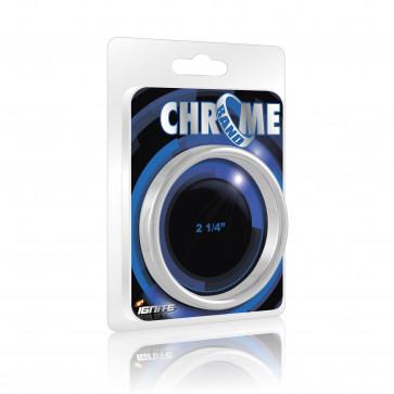 SI IGNITE Chrome Band Cockring, 5,7 cm (2,25 in)