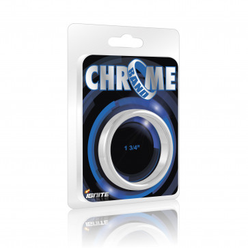 SI IGNITE Chrome Band Cockring, 4,4 cm (1,75 in)
