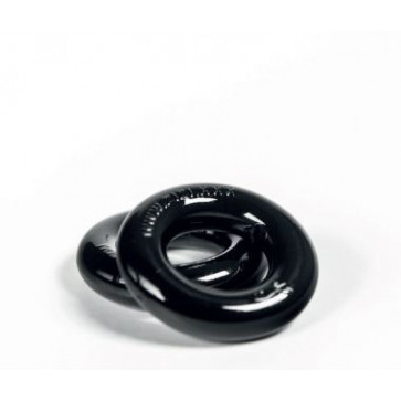 ZIZI TOP COCKRING, Black, Ø 2,5 cm (1,0 in)