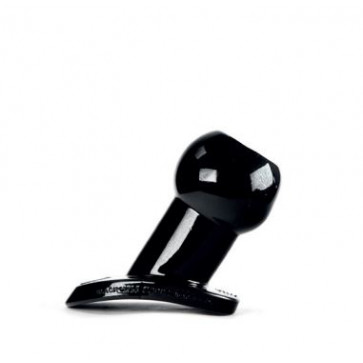 ZIZI XXX HOLE TUNNEL, Sleeve, Black, 6,5 cm (2,5 in), Ø 4,5 cm (1,7 in)