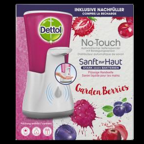Dettol No-Touch Starterset Gartenfrüchte - weiß