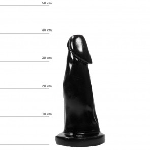 ALL BLACK Cock Plug, AB38, Vinyl, 29 cm (11,5 in)