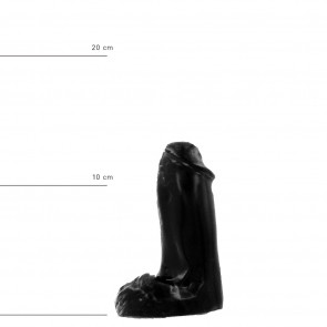 ALL BLACK Dildo Tassilo, AB41