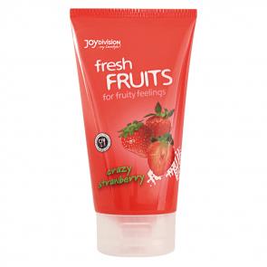 JoyDivision freshFRUITS Crazy Strawberry, Waterbased Lubricant, 150 ml (5,1 fl.oz.)