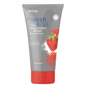 JoyDivision FRENCHkiss Lubricant, Water Based, Strawberry, 75 ml (2,5 fl.oz.)