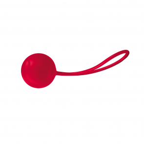 Joyballs Trend Single, Love Balls, Silikomed®, Red, Ø 3,5 cm (1,3 in)