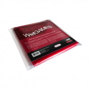 JoyDivision SexMax WetGames Bed Sheet, PVC, Red, 180 x 220 cm (5,9 x 7,2 ft.)