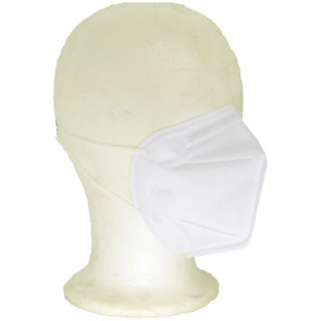 FFP2 Particulate Respirator KN95 Protective Mask 3D, White, One Size, 3 Pack