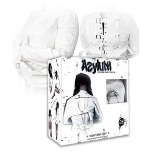Asylum Strait Jacket, Canvas, White, M/S