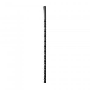 Rippled Silicone Sound, Dilator, Dilatator / Diameter 7-10mm / Length 24cm