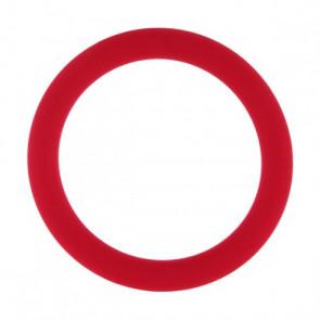 AMARELLE Phallus-Fessel, Latex Cockring, M, red,