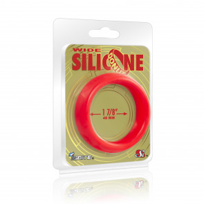 SI IGNITE Wide Silicone Donut 4,8 cm (1,88 in), Red