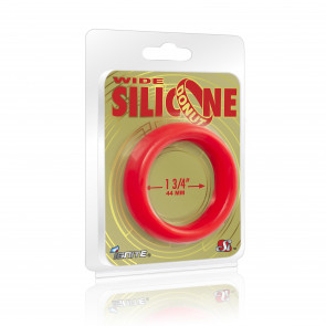 SI IGNITE Wide Silicone Donut 4,4 cm (1,75 in), Red
